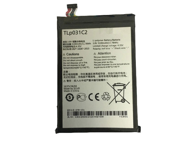 TLp031C2 Alcatel One Touch Hero 2 OT-8030 OT-8030B