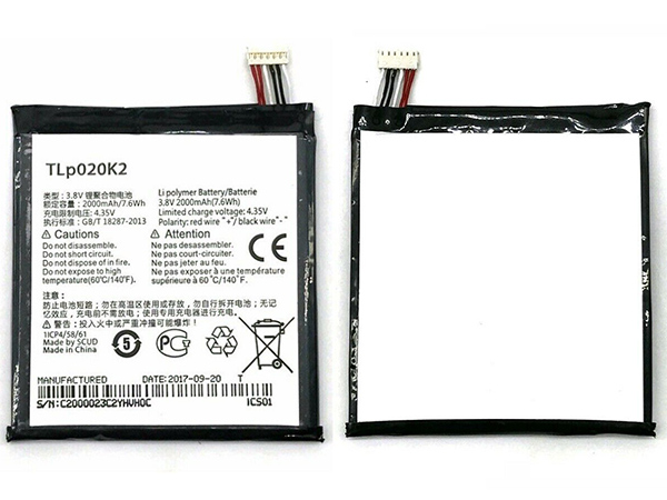 TLp020K2 ALCATEL One Touch 6039H 6039Y 6039K